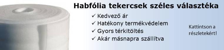 Habfóliák