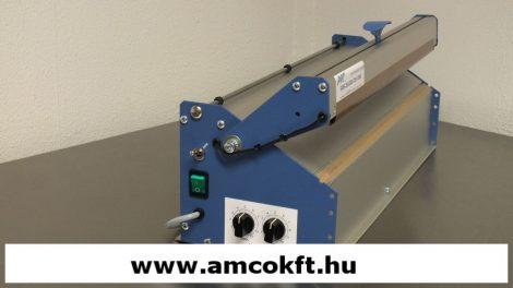 AVC SMS.700.D2 Fóliahegesztő, asztali, mágneses, duplahegesztő, 4 mm széles hegesztéssel
