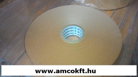 Bandázsszalag, hőhegesztéses, kraft papír, barna, 30mm, 190m, 110my, Strapack