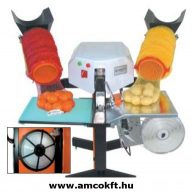 EASY PACK Necchálós csomagológép, félautomata, 2db 155 mm-es töltőcsővel