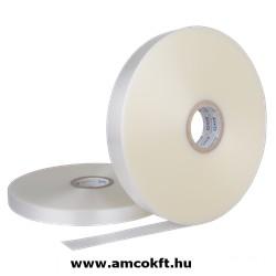 Bandázsszalag, ultrahangos, műanyag, áttetsző, 20mm, 950m, 100my, ATS