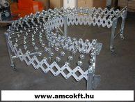 FILMA GRM/500/3 Kihúzható görgősor fém kerekekkel