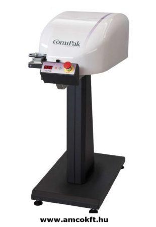 COMIPAK M-408 HF Tasakzárógép/ Klipszelőgép, hálózati, festékszalagos dátumnyomtatóval
