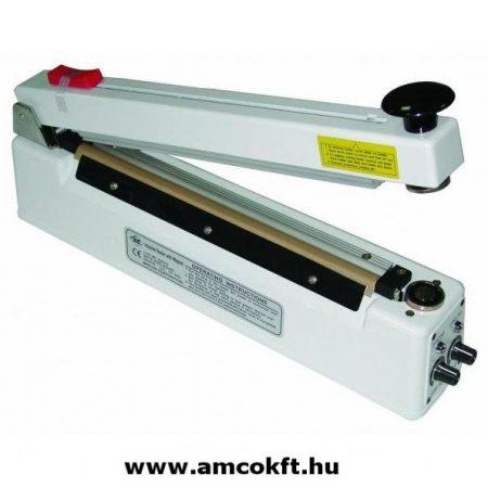 MERCIER ME300HCG Fóliahegesztő, asztali mágneses késsel, 2mmx300mm
