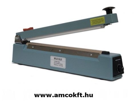 MERCIER ME400HC Impulse hand sealer with cutter, tabletop 2,5mmx400mm