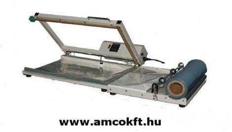 MERCIER ME400LP L-Fóliahegesztő cekászos (vágószálas) hegesztőszállal, 400mmx600mm