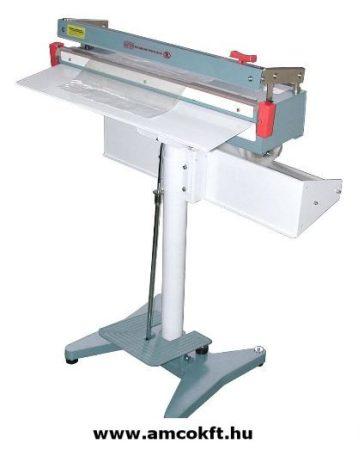 MERCIER ME600FC Impulzusos fóliahegesztő, lábpedálos, késes 2,5mmx600mm