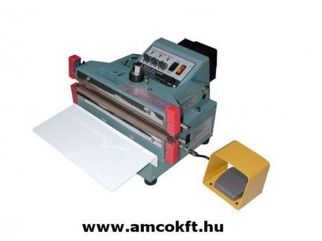MERCIER ME605FDA Fóliahegesztő, impulzusos, asztali, automata, 5mmx600mm