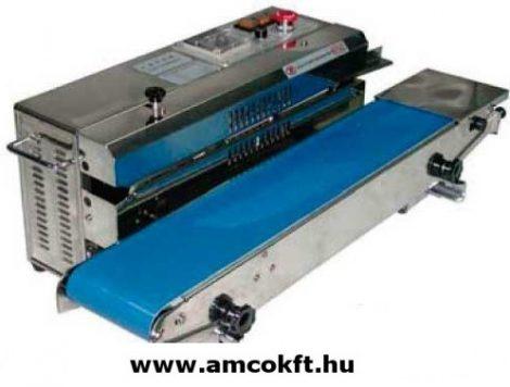 MERCIER ME881BS15L Tasakhegesztő, asztali, vízszintes, folyamatos, 10mmx40mm