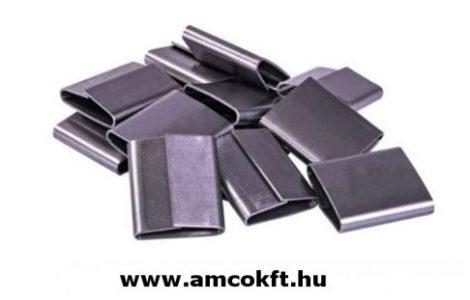 Pánthüvely, acél pántszalaghoz, 25/40mm, 1000db/doboz