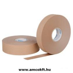 Bandázsszalag, hőhegesztéses, papír, barna, 20mm, 150m, 70g/m2, ATS