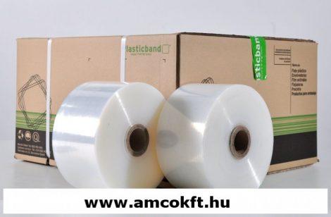 PLASTICBAND Sztreccsfólia, gépi, 100mm, 1500m, 23my, 2,35kg/tekercs, 10 tekercs/doboz