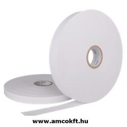 Bandázsszalag, hőhegesztéses, papír, fehér, 30mm, 1000m, 80g/m2, ATS