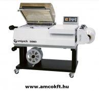 SMIPACK S560 Zsugorfóliázó gép, egylépéses, állvánnyal