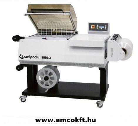 SMIPACK S560 Manual L-sealing hood packaging machine