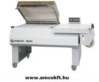 SMIPACK S870 Zsugorfóliázó gép, egylépéses, nagyméretű termékekhez, állvánnyal (380-415V)