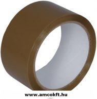 Ragasztószalag, PP/Akryl, barna, 48mm, 60m, 40my