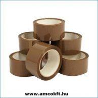 Ragasztószalag, PP/Hotmelt, barna, 48mm, 60m