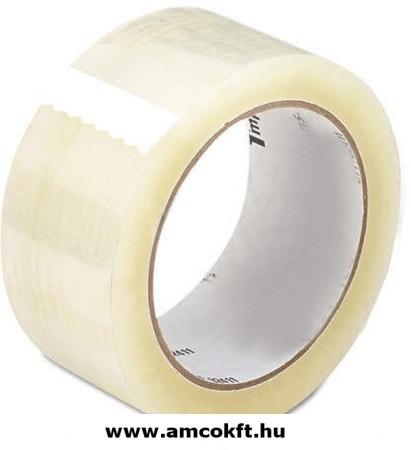 Ragasztószalag, PP/Akryl, áttetsző, 48mm, 60m, 40my