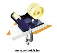 SIAT B3TC Asztali ragasztószalag adagoló két tartóval, rögzíthető, mechanikus