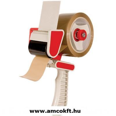 SIAT H11CP Kézi tapadószalag felhordó rozsdamentes acél pengével és fékezővel, 50 mm széles tapadószalaghoz