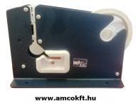 SIAT E7R Fém tasakzáró vágóéllel, max. 12 mm széles tapadószalaghoz, kék