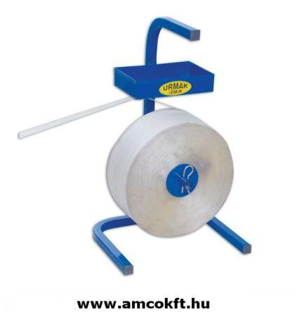 URMAK U10 Pántszalag tartó kocsi textil (szőtt) pántszalaghoz, kék
