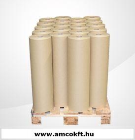 EASYPACK Papír Packmaster térkitöltőt gyártó géphez, 2 rétegű, 52/70g, 750mm, 190m, fehér/barna