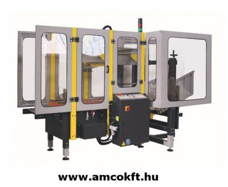 Automata dobozfelállító gép alsó tapadószalag felhordó egységgel- SIAT F44
