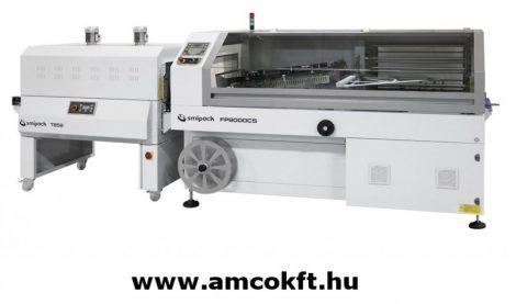 SMIPACK FP8000CS Zsugorfóliázó gép, L-hegesztő, automata, kétlépéses T652 zsugoralagúttal