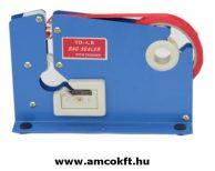 ZD Tasakzáró gép, max. 12 mm széles tapadószalaghoz, kék