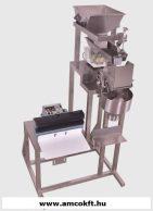 MINIWEIGH kombinált mérő-, töltő- és tasakzárógép szemcsés áruhoz