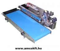 MERCIER ME881BS30L Tasakhegesztő, vízszintes, folyamatos, 10x40 mm 30cm széles szállítószalaggal