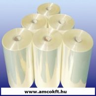 PO féltömlő zsugorfólia, 150mm, 25my, 800m, 5,52kg/tekercs