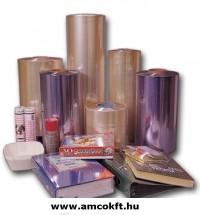 Zsugorfólia, PVC, féltömlő, 30my, 650mm, 360m, 19,19kg/tekercs