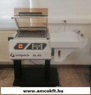 Used SMIPACK SL45 Manual L-sealing hood packaging machine (031650)