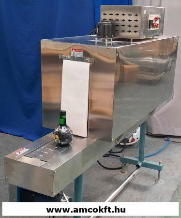 Hőlégfúvós sleeve zsugorfóliázó gép - ZD-BS1500