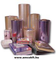 Zsugorfólia, PVC, féltömlő, 30my, 450mm, 360m, 13,29kg/tekercs
