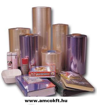 Zsugorfólia, PVC, féltömlő, 30my, 500mm, 360m, 14,77kg/tekercs