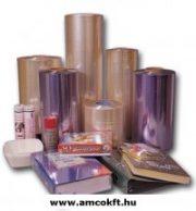 Zsugorfólia, PVC, féltömlő, 30my, 600mm, 360m, 16,85kg/tekercs