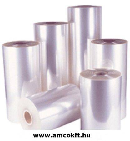 Zsugorfólia, PVC, féltömlő, 18my, 150mm, 600m, 4,43kg/tekercs