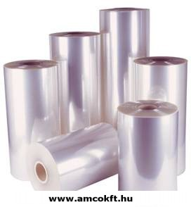 Zsugorfólia, PVC, féltömlő, 18my, 600mm, 600m, 17,72kg/tekercs