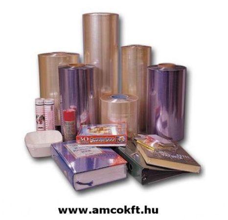 Zsugorfólia, PVC, féltömlő, 30my, 700mm, 360m, 20,7 kg/tekercs