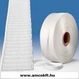 Pántszalag, szőtt textil, 16mm, 850m, 6,3kg/tekercs