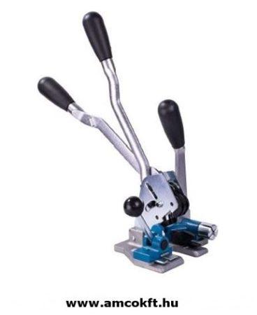 LINDER Kézi kombi pántszalag feszítő 15-16 mm-es műanyag pántszalaghoz