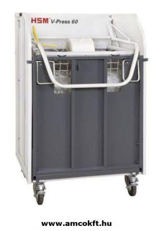HSM V-Press 60 vertical baling press