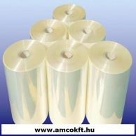 Zsugorfólia, PO, féltömlő, 10my, 450mm, 2000m, 16,56kg/tekercs