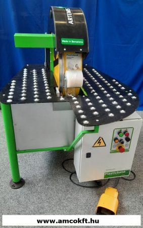 Használt körpályás sztreccsfóliás csomagológép - PLASTICBAND ARTEMIS 50