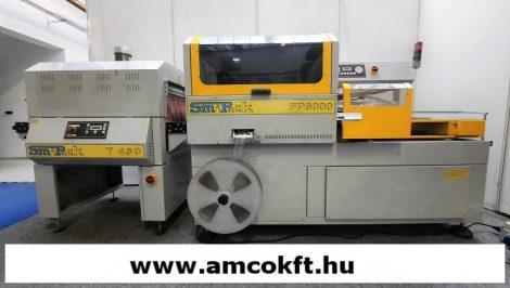 Használt automata zsugorfóliázó gép - Smipack FP6000 és T450 zsugorlagút