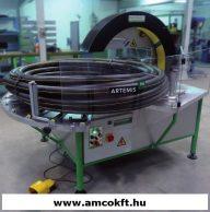 PLASTICBAND ARTEMIS 90 Körpályás csomagológép, félautomata